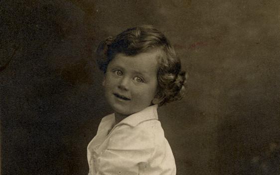 Kurt Klein, Kindheit, Portrait