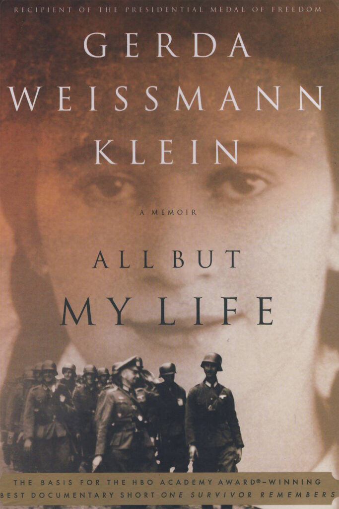 Gerda Weissmann Klein, Buch