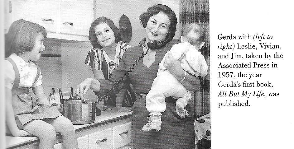 Gerda, Weissmann, privat, Kinder
